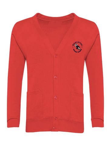 Rickleton Primary School Red Cardigan