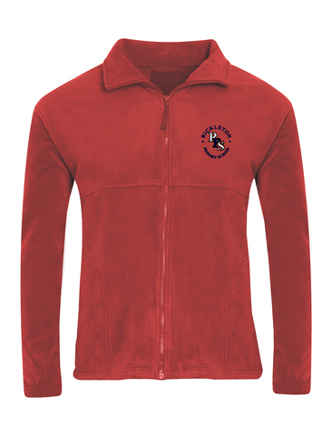 Rickleton Primary School Red Fleece Jacket