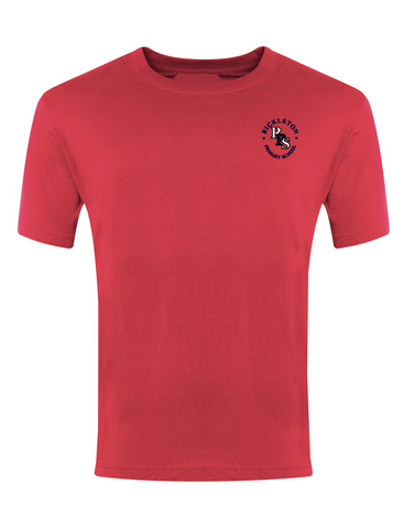 Rickleton Primary School Red P.E. T-Shirt