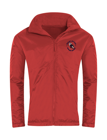 Rickleton Primary School Red Showerproof Jacket