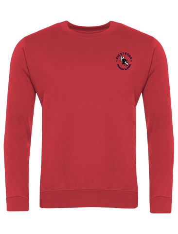 Rickleton Primary School Red Sweatshirt