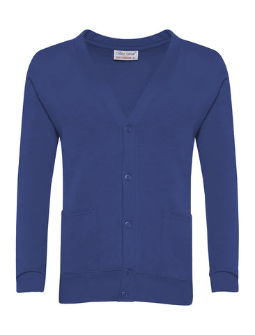 St John Bosco R.C. Primary School Royal Blue Cardigan