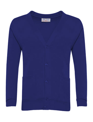 St James R.C.V.A. Primary School Royal Blue Cardigan