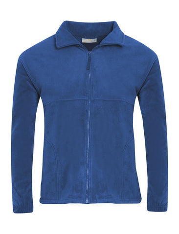St James R.C.V.A. Primary School Royal Blue Fleece Jacket