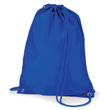 Royal Blue Quadra Draw String Gym Bag