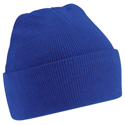 St John Bosco R.C. Primary School Royal Blue Knitted Hat