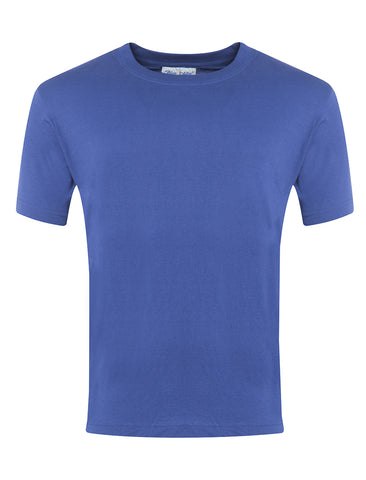 St Wilfrid's R.C. Primary School Royal Blue P.E. T-Shirt