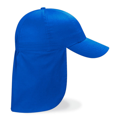Columbia Grange School Royal Blue Safari Peaked Cap