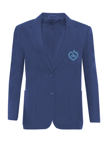 Sacred Heart Catholic High School Royal Blue Blazer