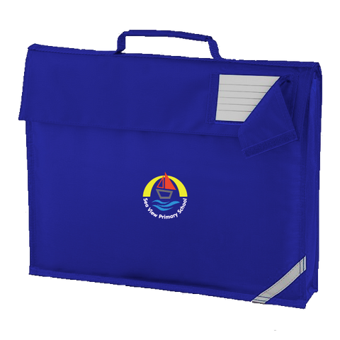 Sea View Primary School Royal Blue Book Bag