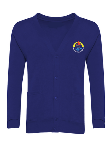 Sea View Primary School Royal Blue Cardigan