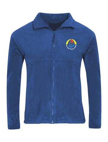 Sea View Primary School Royal Blue Fleece Jacket