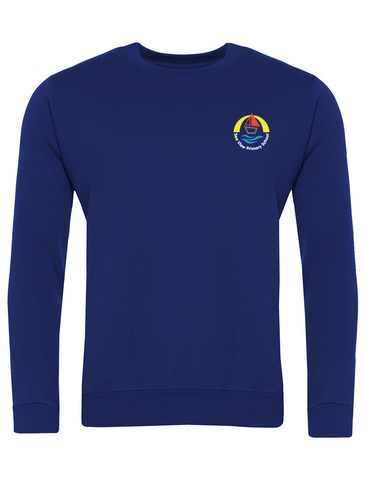 Sea View Primary School Royal Blue Sweatshirt