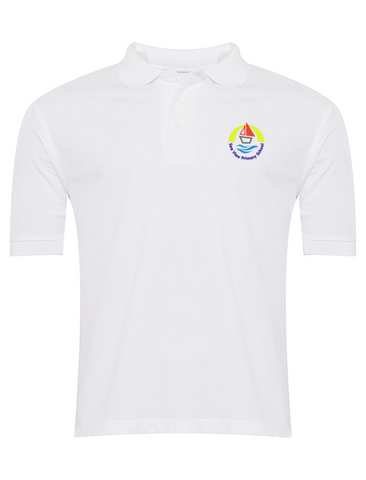 Sea View Primary School White Polo