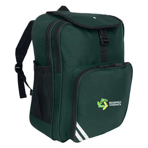 Sedgefield Hardwick Primary School Bottle Green Junior Backpack