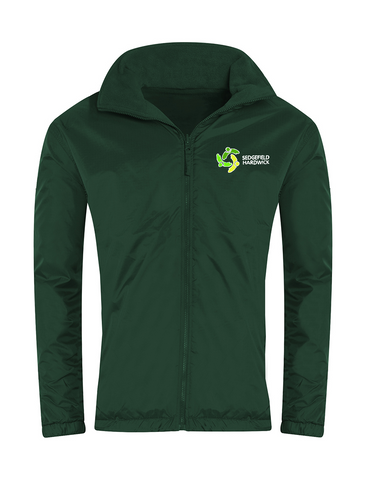 Sedgefield Hardwick Primary School Bottle Green Showerproof Jacket