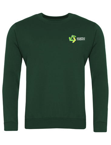 Sedgefield Hardwick Primary School Bottle Green Sweatshirt