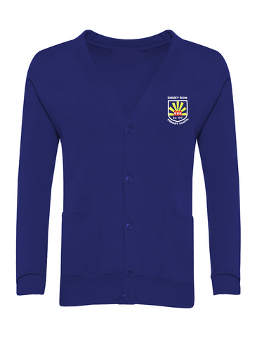 Shiney Row Primary School Royal Blue Cardigan