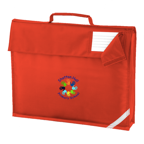 Shotton Hall Primary School Red Book Bag