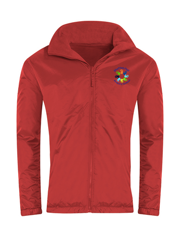 Shotton Hall Primary School Red Showerproof Jacket