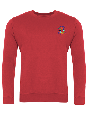 Shotton Hall Primary School Red Sweatshirt