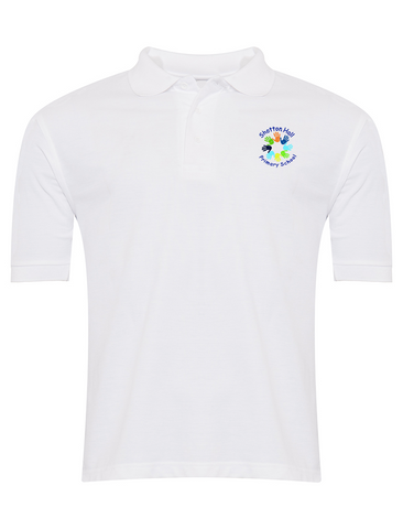 Shotton Hall Primary School White Polo