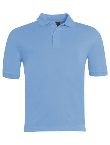 St John Boste R.C. Primary School Sky Blue Polo