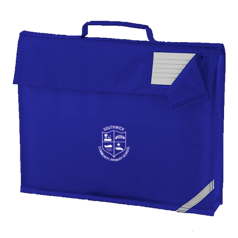 Southwick Community Primary School Royal Blue Book Bag