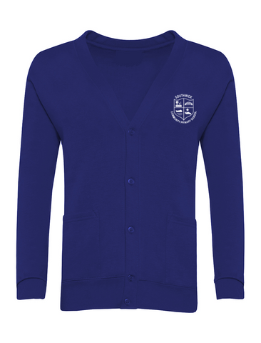Southwick Community Primary School Royal Blue Cardigan