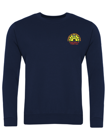 Springwell Village Primary School Navy Sweatshirt