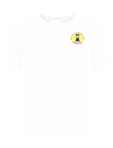 Springwell Village Primary School White P.E. T-Shirt