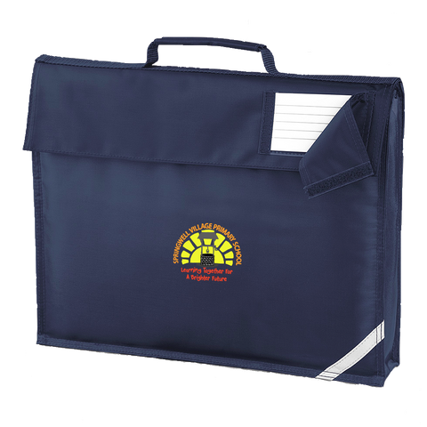 Springwell Village Primary School Navy Book Bag