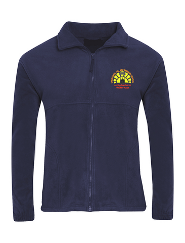 Springwell Village Primary School Navy Fleece Jacket
