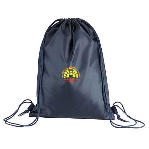Springwell Village Primary School Navy Gym Bag