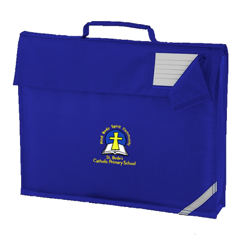St. Bede's Catholic Primary School - Washington Royal Blue Book Bag