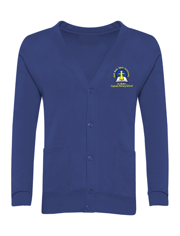 St. Bede's Catholic Primary School - Washington Royal Blue Cardigan