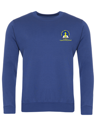 St. Bede's Catholic Primary School - Washington Royal Blue Sweatshirt