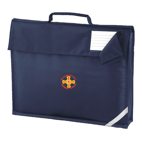 St Cuthbert's R.C. Primary School - Sunderland Navy Book Bag
