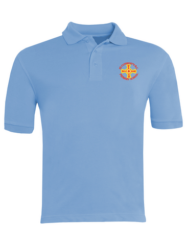 St Cuthbert's R.C. Primary School - Sunderland Sky Blue Polo