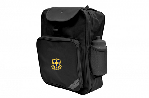 St Anne's R.C. Primary School Black Junior Backpack