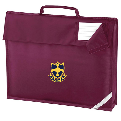 St Anne's R.C. Primary School Burgundy Book Bag