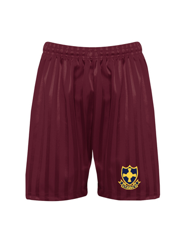 St Anne's R.C. Primary School Burgundy P.E. Short's