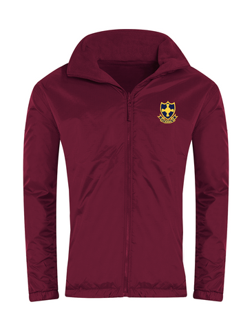 St Anne's R.C. Primary School Burgundy Showerproof Jacket