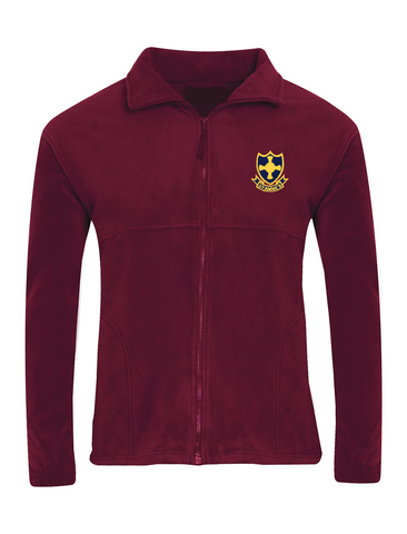 St Anne's R.C. Primary School - Sunderland Burgundy Fleece Jacket