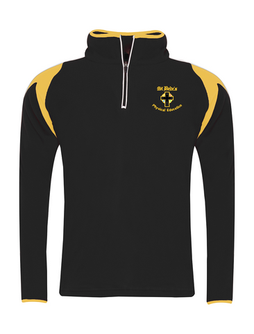St Bede's Catholic Comprehensive School 1/4 Zip Sports Top