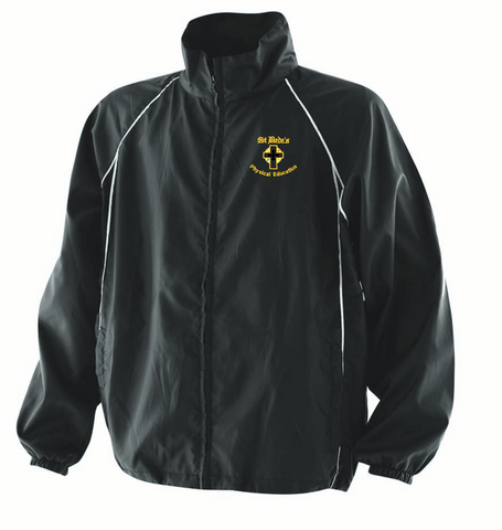 St Bede's Catholic Comprehensive School Black Showerproof Jacket