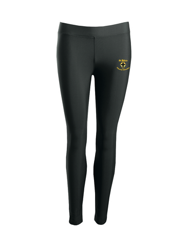 St Bede's Catholic Comprehensive School Black P.E. Sports Leggings