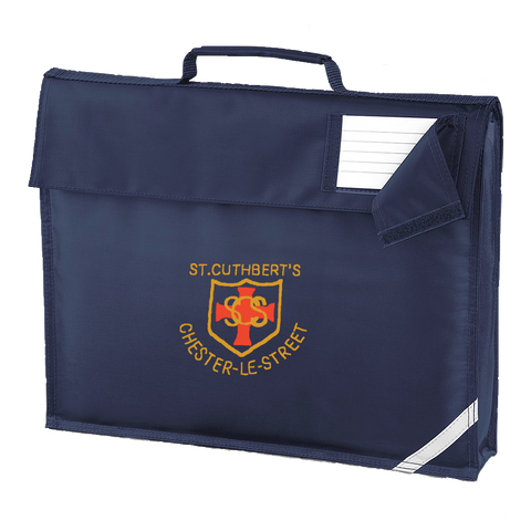 St Cuthberts R.C. Primary School Chester-le-Street Navy Book Bag