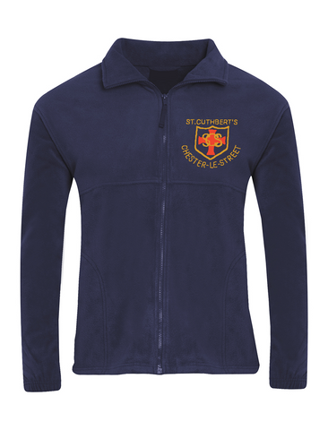 St Cuthberts R.C. Primary School Chester-le-Street Navy Fleece Jacket