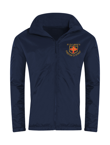St Cuthberts R.C. Primary School Chester-le-Street Navy Showerproof Jacket